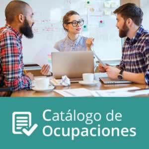 Catálogo de Ocupaciones Contratos para la formación y el aprendizaje