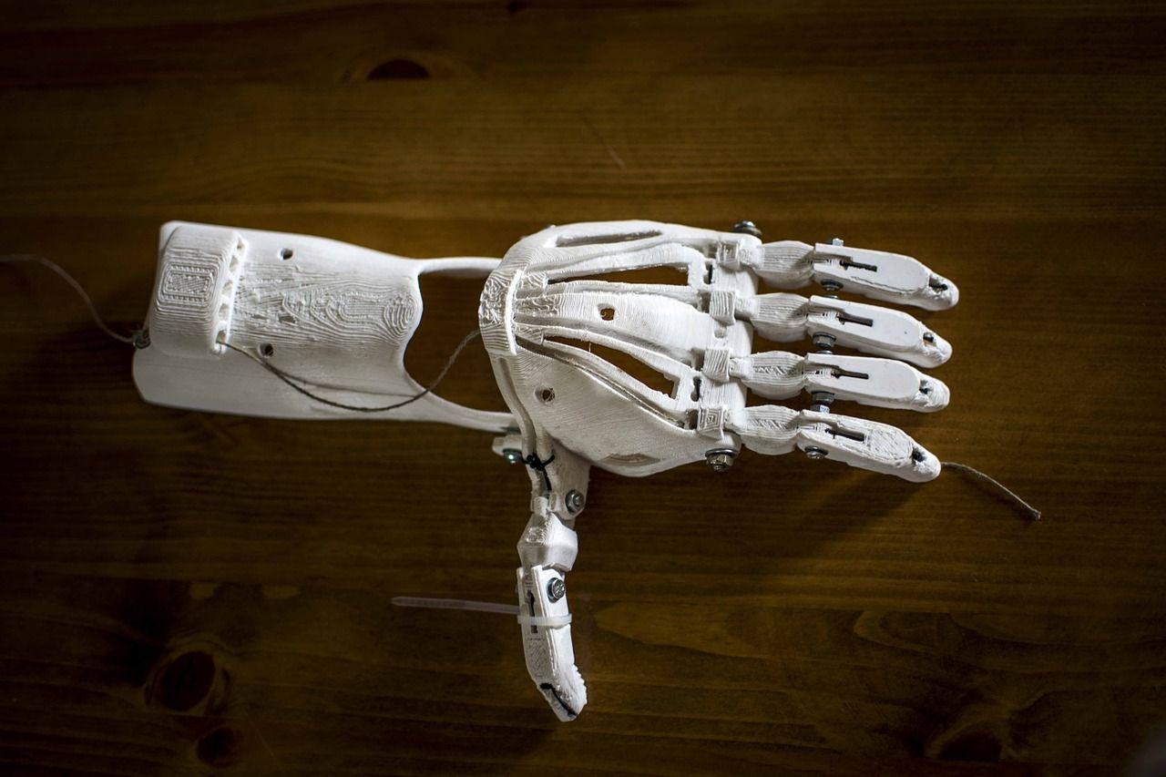 Prótesis hecha con impresoras 3D