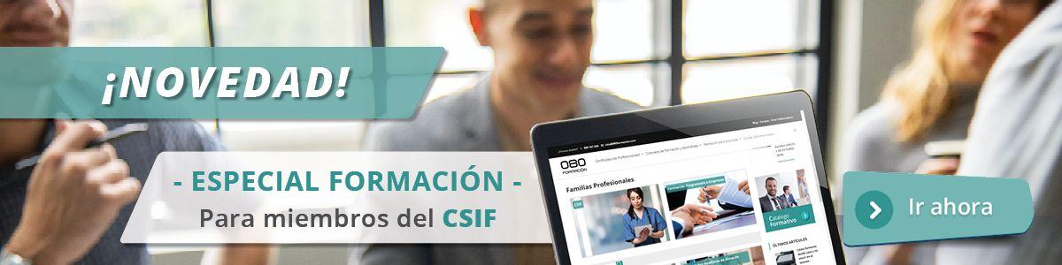 especial miembros CSIF formación