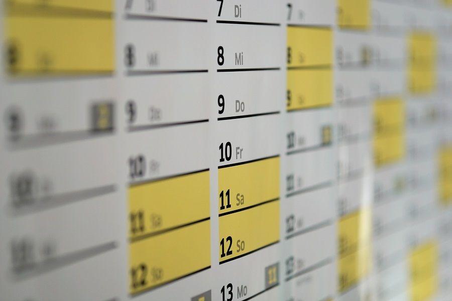 Imagen de horario laboral y formativo en un contrato de formación